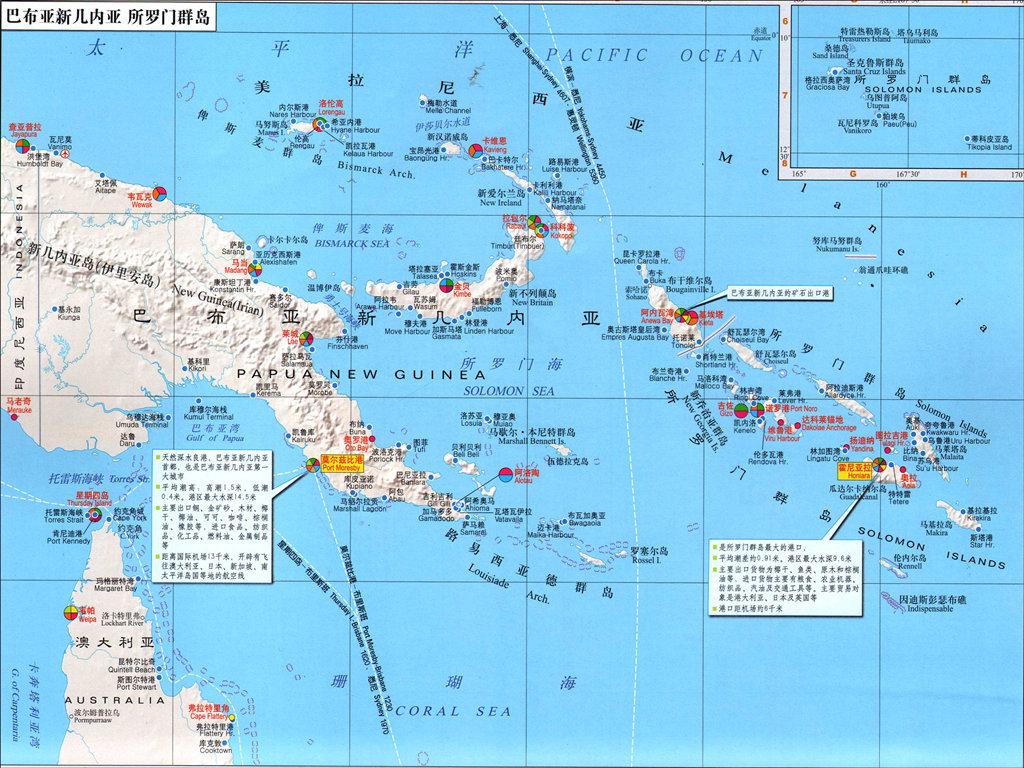 巴布亚新几内亚港口有哪些