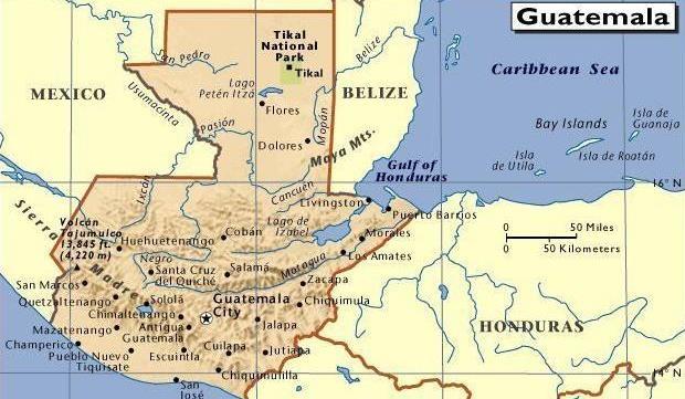 危地马拉港口有哪些
