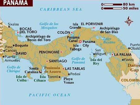 巴拿马港口有哪些