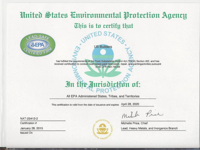 美国环境保护署EPA认证