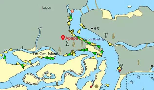 尼日利亚的第一大港口——阿帕帕港(APAPA)