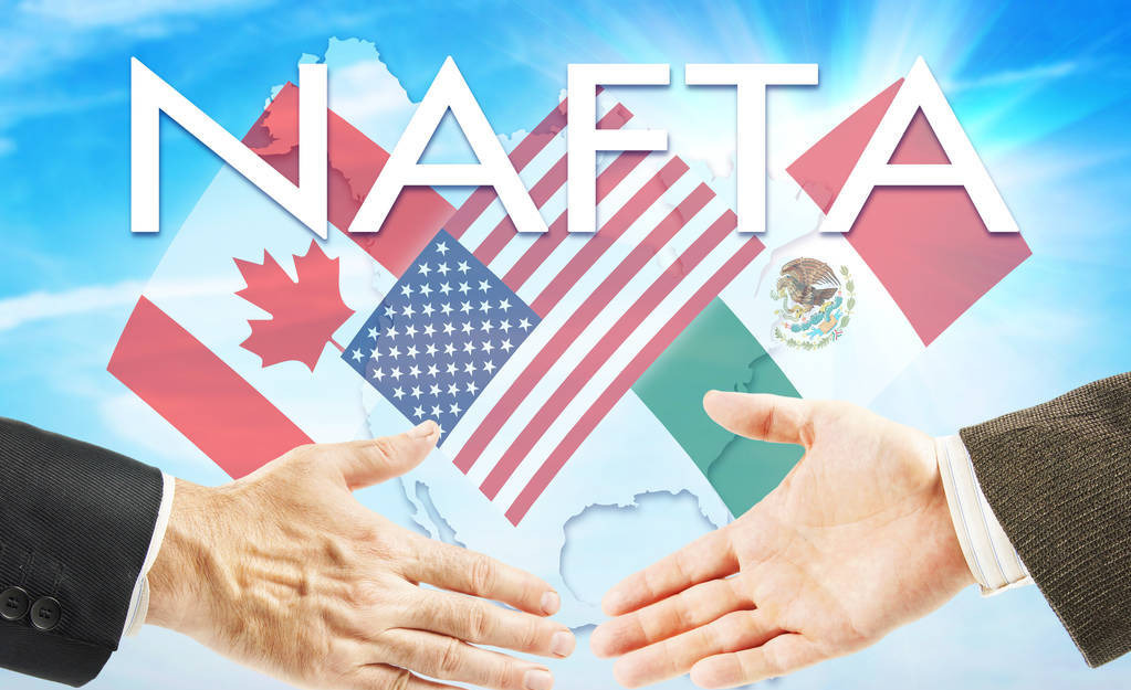 北美自由贸易协定(NAFTA)