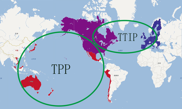 跨大西洋贸易与投资协定(TTIP)