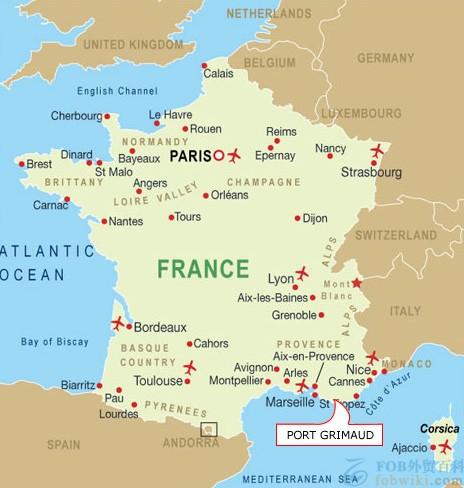 法国主要港口