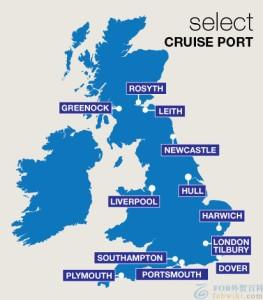 英国港口有哪些_英国港口地图