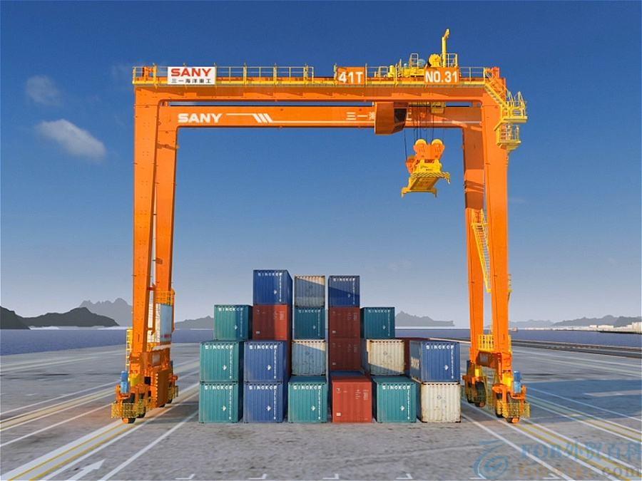 港口起重机_岸边集装箱起重机
