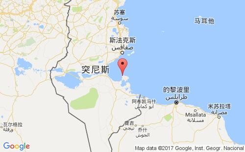 突尼斯主要港口